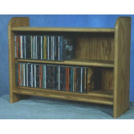 Wood Shed Deluxe 110 Cd Multimedia Tabletop Storage Rack