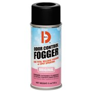 Big D Industries Odor Control Fogger, 5oz Aerosol, 12/Carton
