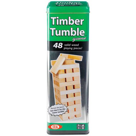 Ideal Timber Tumble Stacking Game
