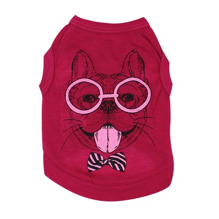 Small Puppy Costumes (Cute Pet Dog Cat T-shirt Clothing Small Puppy)