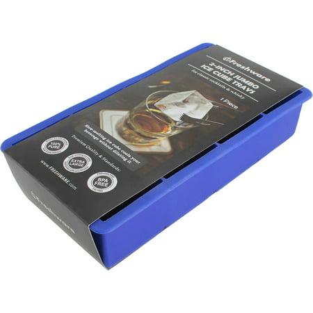 Freshware 8-Cavity Silicone Ice Cube Tray, 2