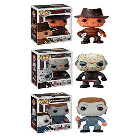 Funko Horror Classics POP! Movies Vinyl Collectors Set: Freddy Krueger, Jason Voorhees, Michael Myers - Is Freddy Krueger Real