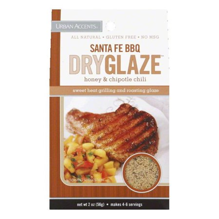 Urban Accents Dry Glaze, Santa Fe BBQ, Honey & Chipotle - Santa Fe Bbq