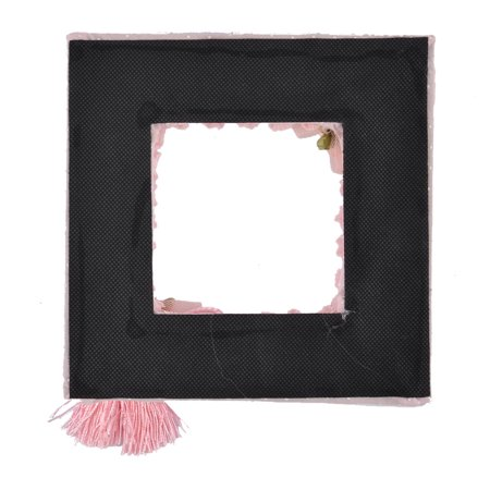 Girls Bedroom Decor Rural Style Tassel Lace Pattern Wall Switch Sticker Pink - image 3 de 4