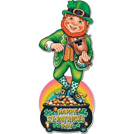 Saint Patrick's Day Leprechaun Pot Of Gold Cut Out Decoration](Leprechaun Decorations)