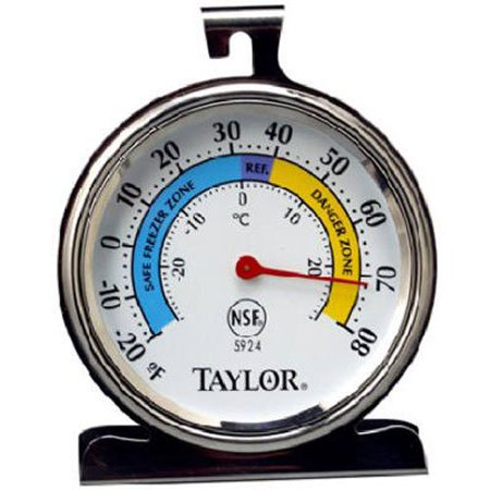 Classic Series Large Dial Thermometer (Freezer/Refrigerator) Freezer-Refrigerator ()