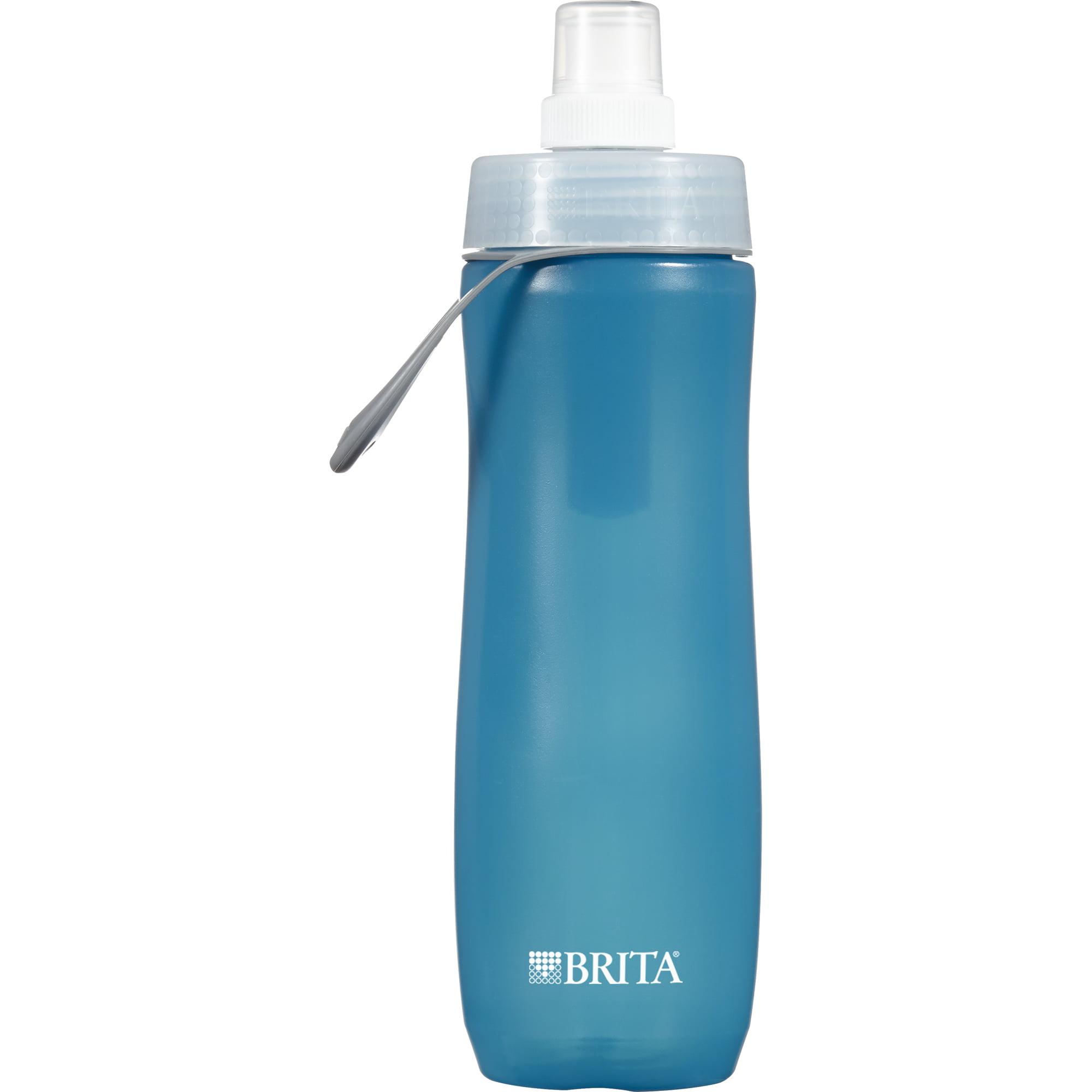 Brita Sport Water Bottle with Filter - BPA Free - Blue - 20 oz