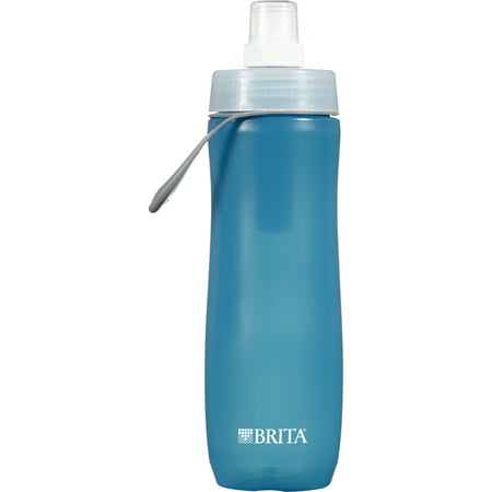 Brita Sport Water Bottle with Filter - BPA Free - Blue - 20 - Sports Bottles In Bulk
