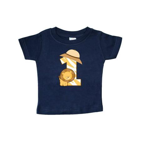 Safari 1st Birthday Jungle Animal 1 Year Old Baby T-Shirt