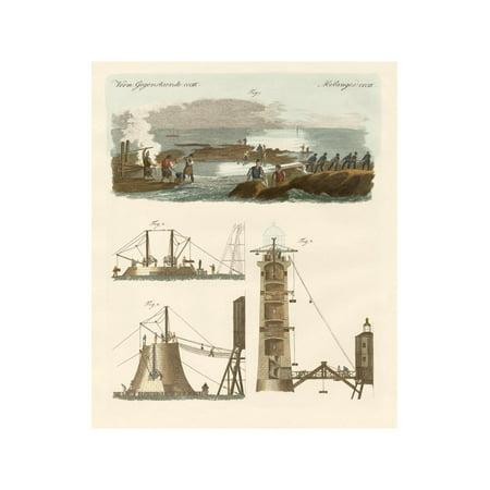 Bell Rock Lighthouse - Bell Rock Lighthouse Print Wall Art