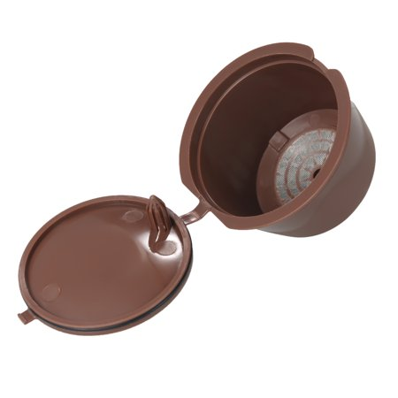 3pcs/set Coffee Capsule Dolce Gusto Coffee Filter Reusable Dolce Gusto Coffee Capsule with Spoon and Brush - image 5 of 7