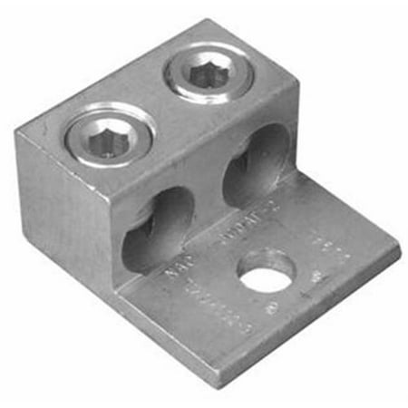 Morris Products 90824 Aluminum Mechanical Lugs Two Conductors - One Hole Mount 1000Mcm - image 1 of 1