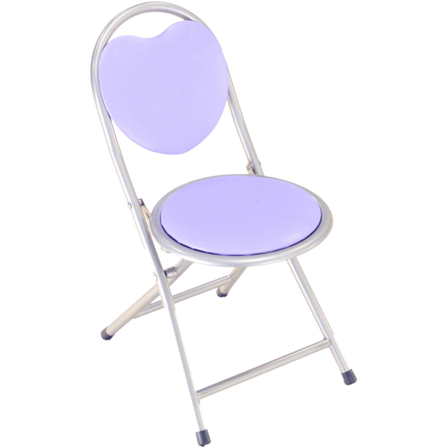 Home Craft Kid s Metal Folding Chair Multiple Colors Walmart