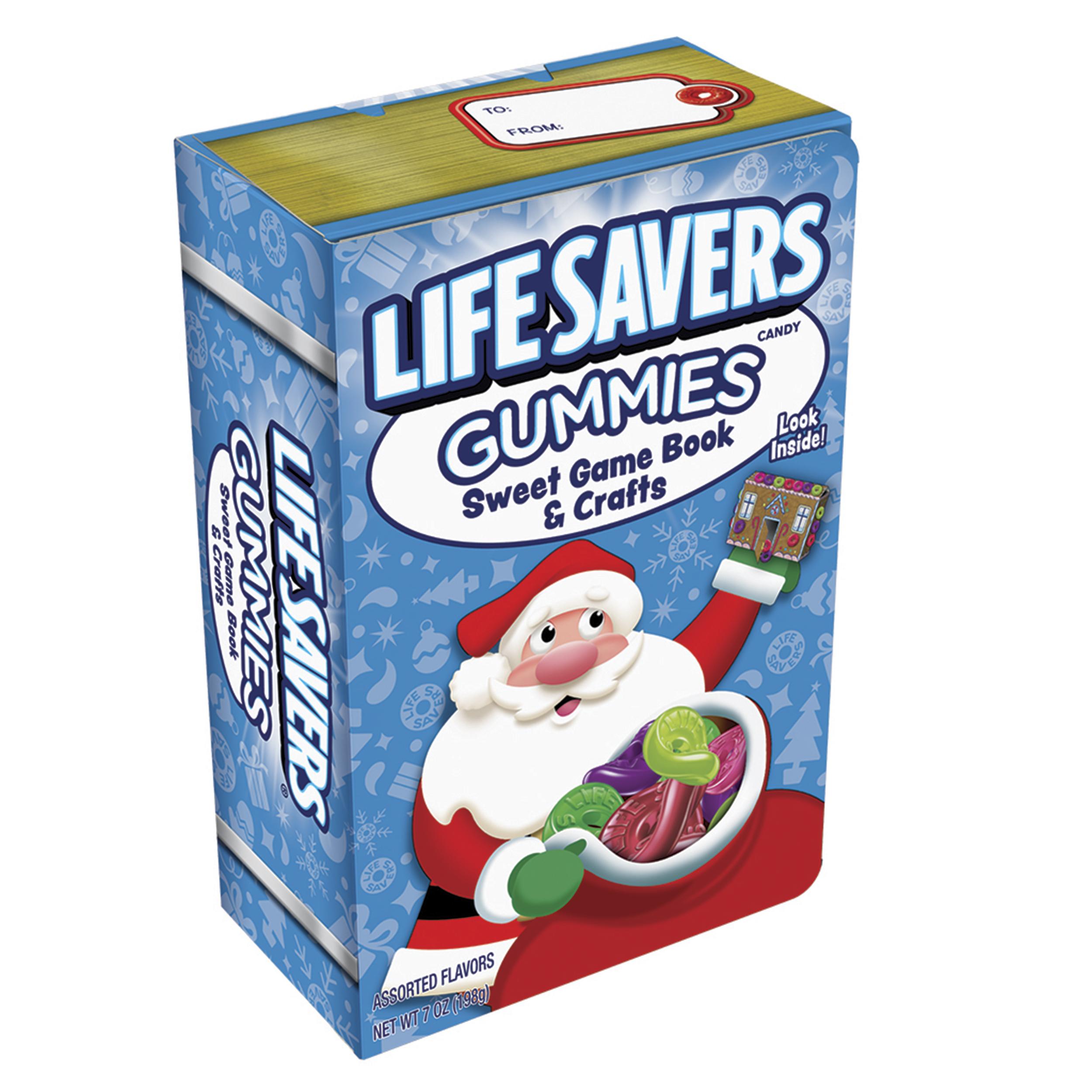 Life Savers, Gummies Sweet Game Holiday Book & Crafts, 7 Oz, 6 Ct