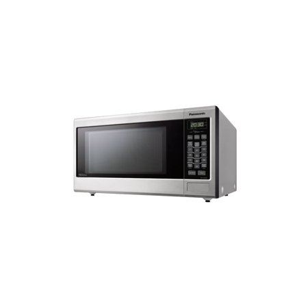 panasonic nn st663s mid size genius inverter stainless steel microwave 1200watt. Black Bedroom Furniture Sets. Home Design Ideas
