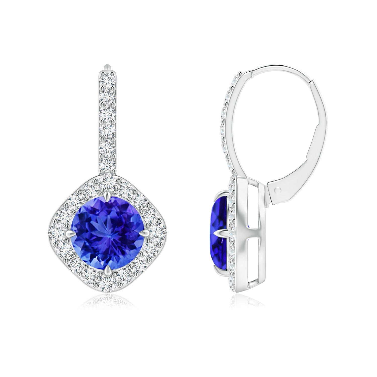 Diamond Rings For Sale Walmart: Claw-Set Tanzanite And