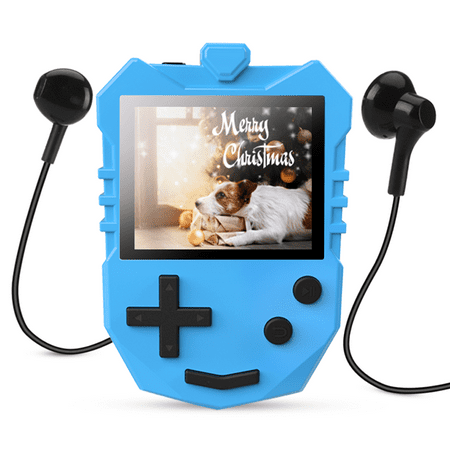 AGPTEK MP3 Player for Kids, Portable 8GB Music Player with Built-in Speaker, FM Radio, Voice Recorder, Up to (Best Android Portable Music Player)