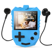 AGPTEK MP3 Player for Kids, Portable 8GB Music Player with Built-in Speaker, FM Radio, Voice Recorder, Up to 128GB