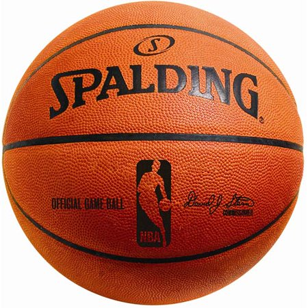 Spalding Official Leather Nba Game - Spalding NBA Official Game Indoor Leather Basketba