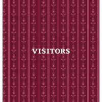 Visitors Book, Guest Book, Visitor Record Book, Guest Sign in Book, Visitor Guest Book: HARD COVER Visitor guest book for clubs and societies, events, functions, small businesses (Hardcover)