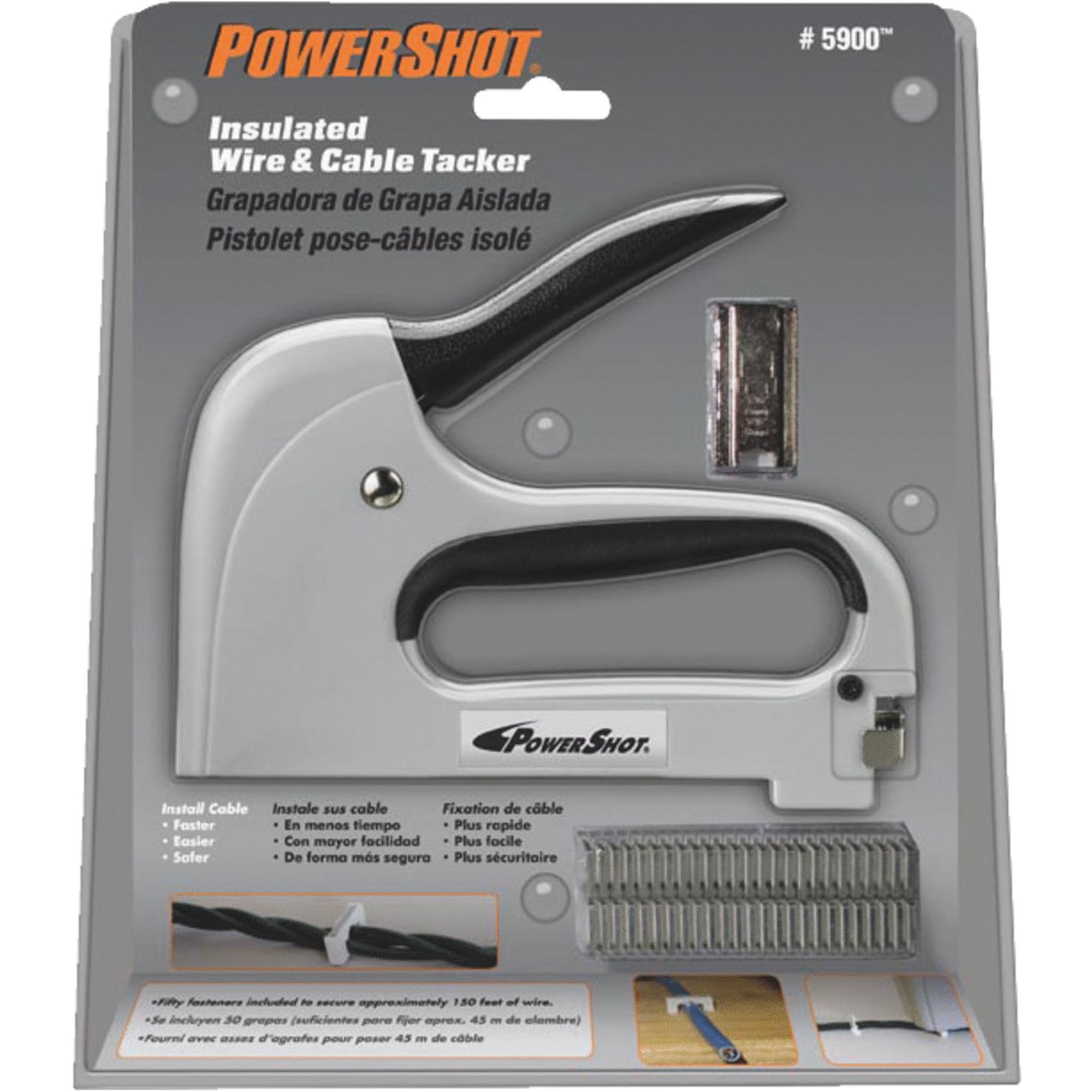Arrow Fastener PowerShot Light Duty Wire & Cable Gun by Arrow Fastener