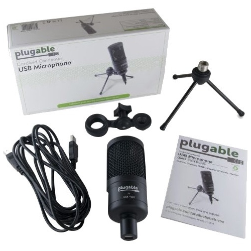 PLUGABLE USB MICROPHONE