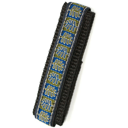 CHUMS THE BAND 14-16MM HOOK & LOOP LEAF PRINT ONE PIECE ACTION SPORT WATCHBAND (Swiss Army Watch Band Loop)