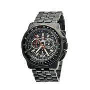 Luminox Men's Air F-22 Raptor 9270 Series, Grey Bracelet, Round Black Dial, Watch A.9272