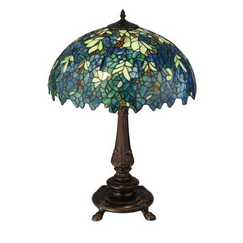 "Meyda Tiffany 124815 Nightfall Wisteria 2 Light 26"" Tall ..."