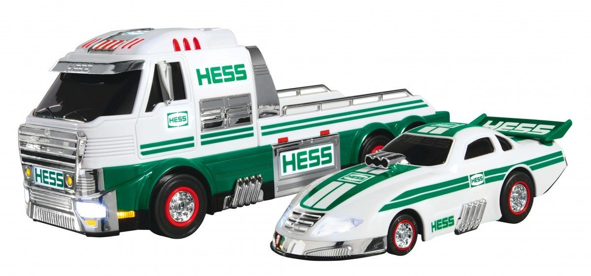 2016 Toy Truck and Dragster, By Hess by