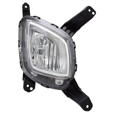 Tyc 19 6127 00 1 Fog Light Lamp Assembly Right For 2016