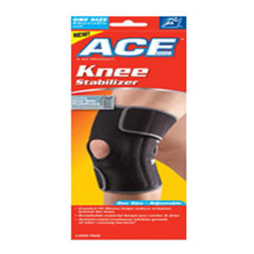 Ace Knee Brace With Side Stabilizer, Adjustable, Model: 200290 -1 Ea