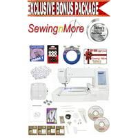 Janome Memory Craft 400E Embroidery Machine w/Exclusive Platinum Series Bonus Package!