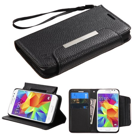 huge discount 1255b fc9b3 Book Style MyJacket Wallet Cover Case w/Wristlet for Samsung Galaxy Core  Prime
