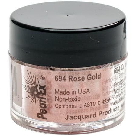 Jacquard Pearl Ex Powdered Pigment 3g-Rose Gold (Medium Pigment)