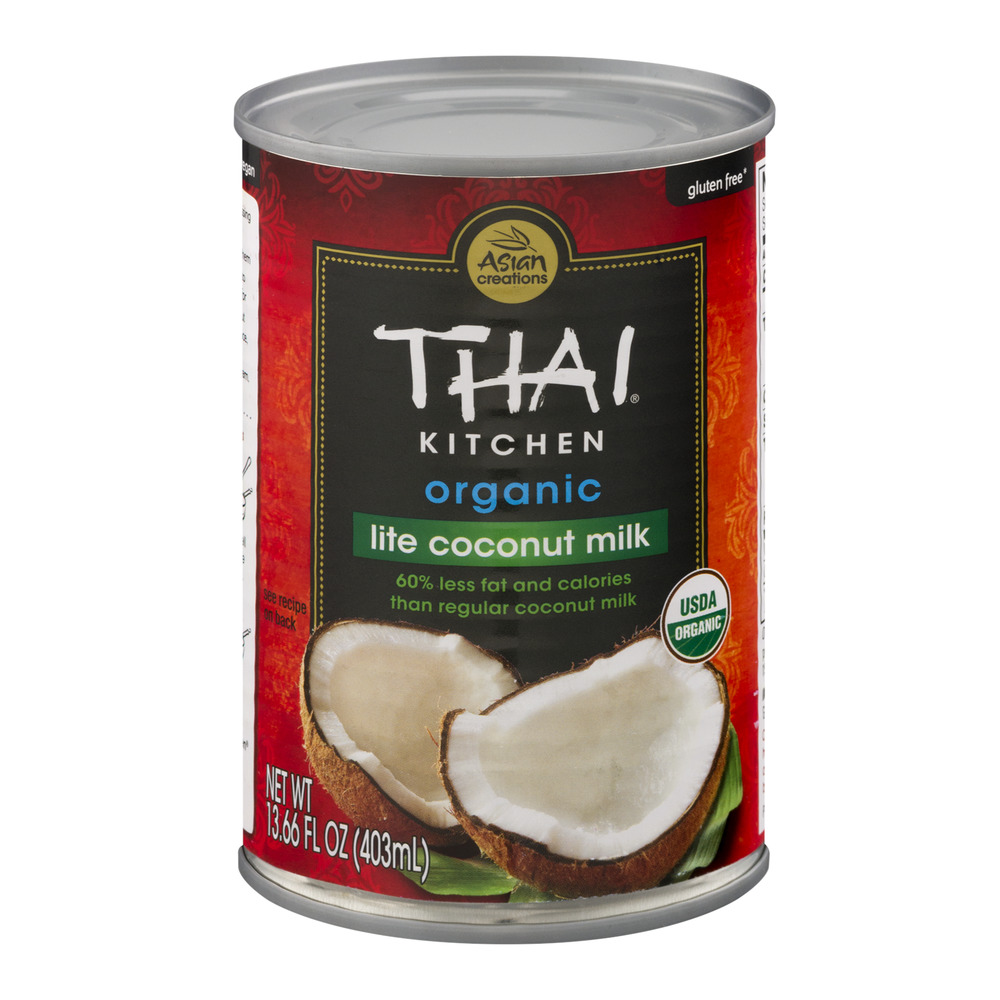 Asian Creations Thai Kitchen Organic Lite Coconut Milk, 13.66 FL OZ