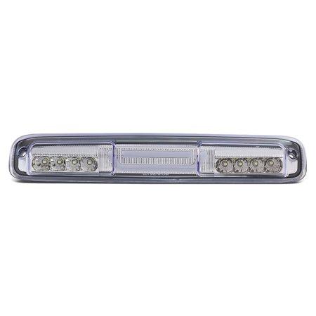 Classic Lcd - For 1999 to 2007 Chevy Silverado / GMC Sierra 15002500 / 3500 HD / Classic Center High Mount 3D LED Bar Third 3rd Tail Brake Light+Cargo Lamp 00 01 02 03 04 05 06 Chrome
