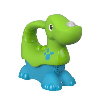 Fisher Price Roar N Glow Dino Green - Green Dinosaur