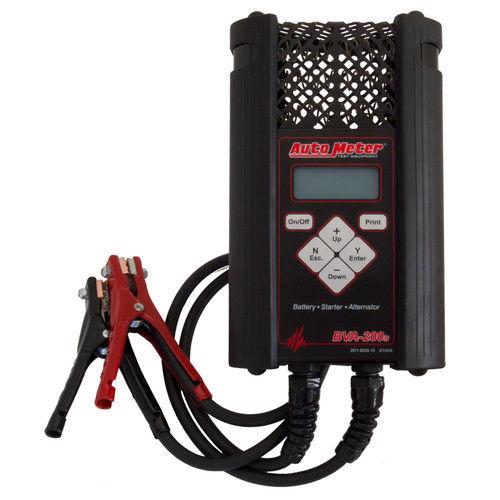 Auto Meter BVA-200S Handheld Electrical System Analyzer w/ 120 Amp Load