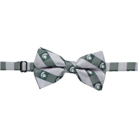 Michigan State Spartans Check Bow Tie - No Size - Spartan Suit