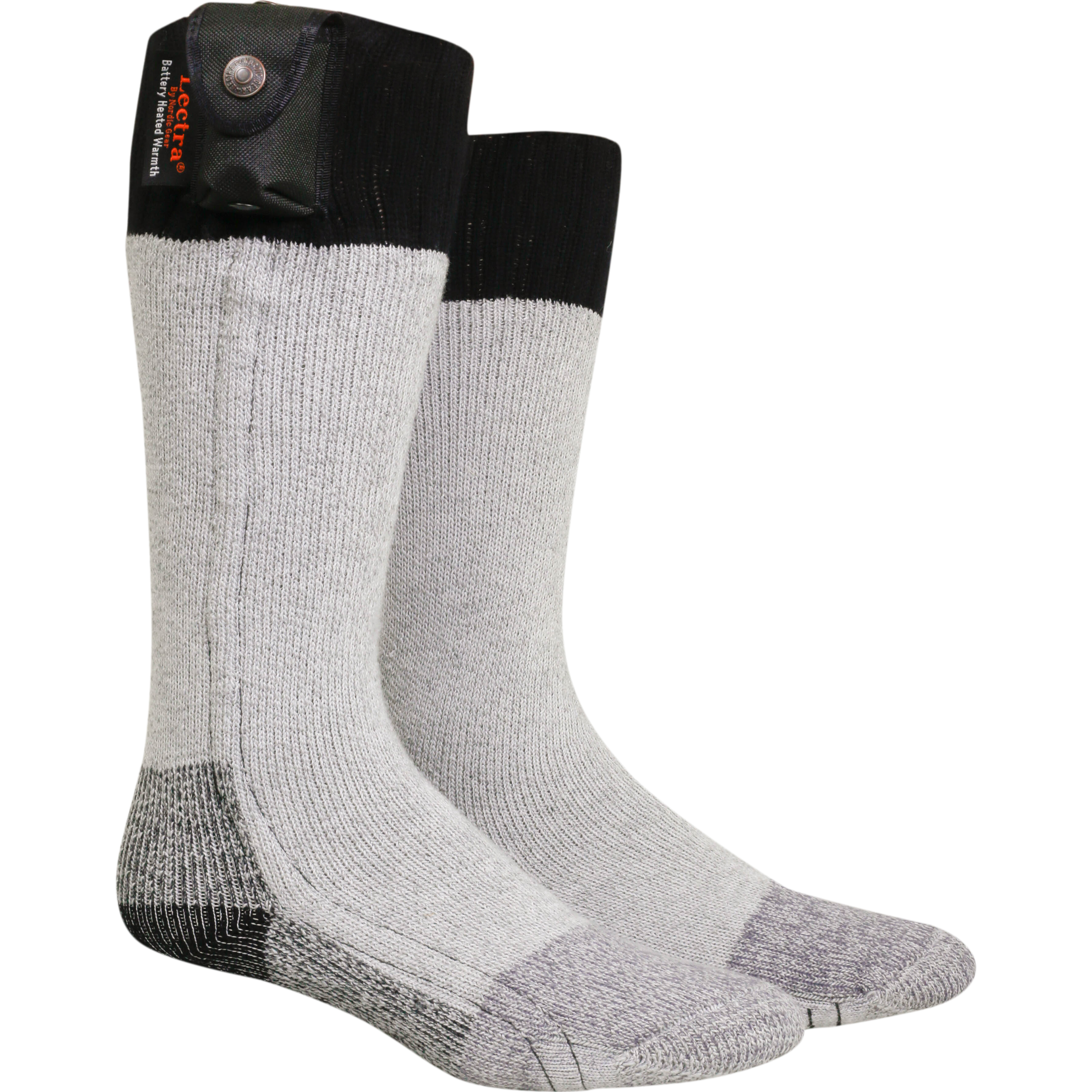 Lectra Sox Hiker Boot Socks, Electric Battery Heated Socks by Heated Socks