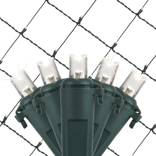 Wintergreen Lighting 21950 4' x 6' Cool White LED Net - 1...