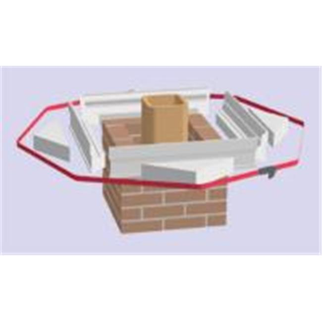Lindemann 760612 12 Inches Styro-Form Support Triangles- Box of 4