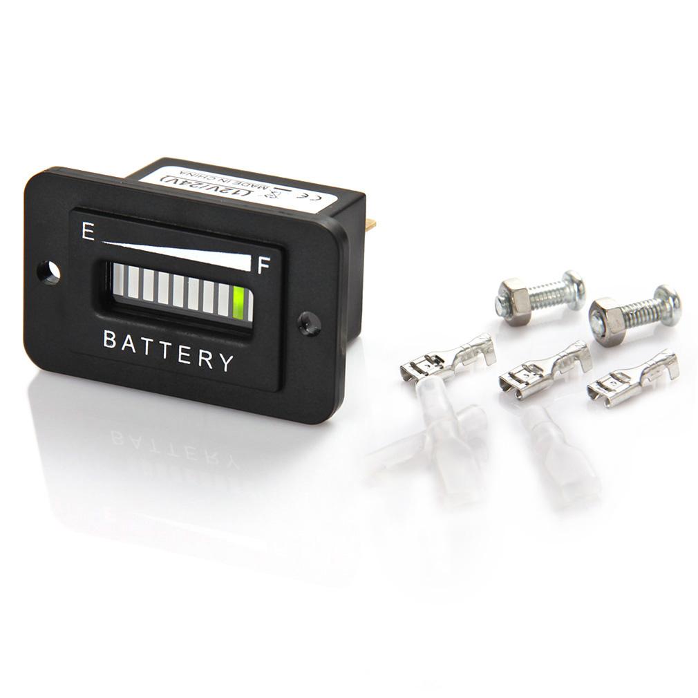 Golf Cart 48V Volt Battery Indicator Meter Gauge for Club Car Golfcart