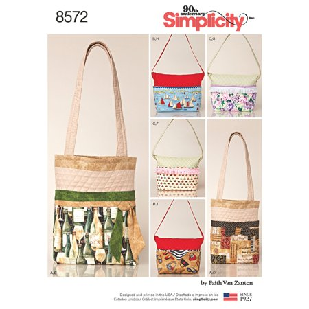 Changable Clothes (Simplicity One Size Changeable Cover Bags Pattern, 1 Each)