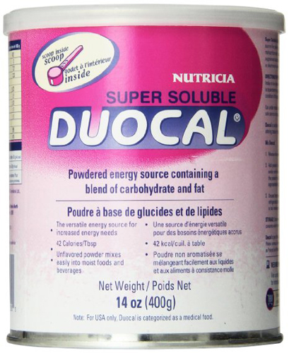 Nutricia Super Soluble Duocal Powder 400g Can, Fat and Carbohydrate-based-1 Each