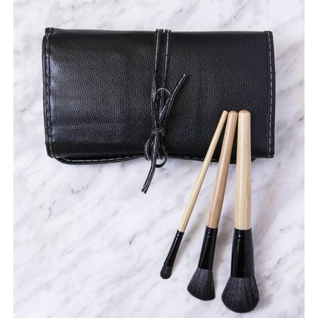 ZOE AYLA 12 Piece Professional Make-Up Brush Set with Travel Case - image 6 of 7