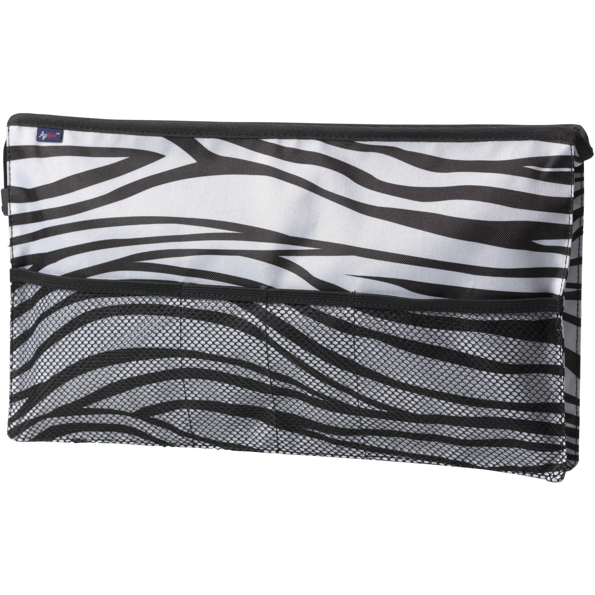 Drive Medical AgeWise Walker Rollator Front Organizer with Mesh, Zebra