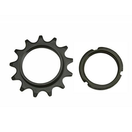13T Track Fix Cog 1/8 Black. Bike cog, bicycle cog for track bike, fixies, fixed gear bikes