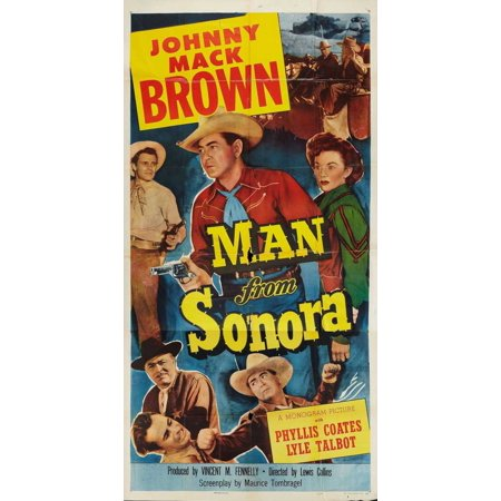 Man from Sonora POSTER Movie (27x40) (Banda Sonora Halloween Mp3)